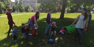 Větrníček v přírodě - chodící děti 1-2 roky (červen)