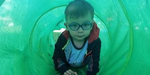 Léto s Větrníčkem MINI v přírodě  (prázdniny, lezoucí děti, začínající chodci)